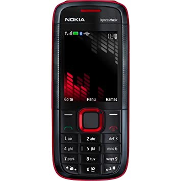 Nokia 5130 Xpress Music Orange Pay As You Go Mobile Amazoncouk