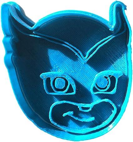 Cuticuter Owlette Cara PJ Masks Cortador de Galletas, Azul ...