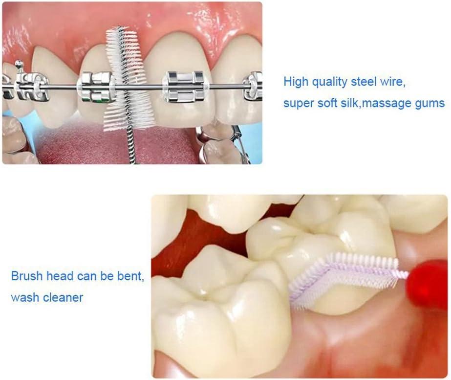 Interdental Brush Tooth Flossing Head