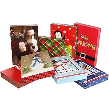Amazon.com: Christmas-Print Shirt Gift Boxes, 3-ct. Packs: Health ...