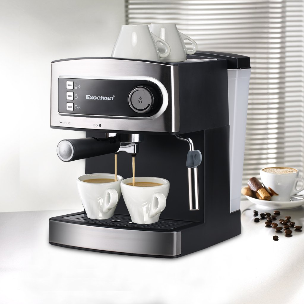 Using a coffee machine