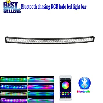 colorbarz® gebogen 127 cm 288 W Jagen RGB Halo LED Light Bar mit ...
