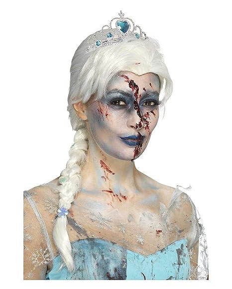 Horror-Shop Peluca congelada Zombie