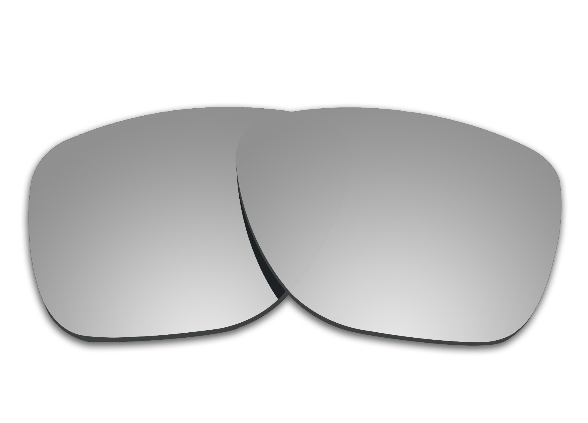 COLOR STAY LENSES 2.0mm Thickness Polarized Replacement Lenses for Oakley Crossrange XL OO9360 Titanium Mirror Coatings