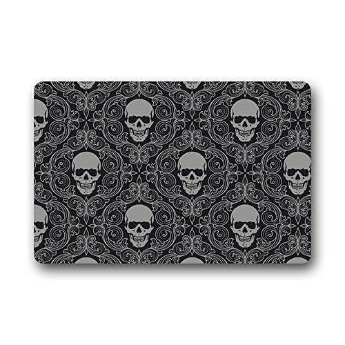 sugar skull door mat - 4