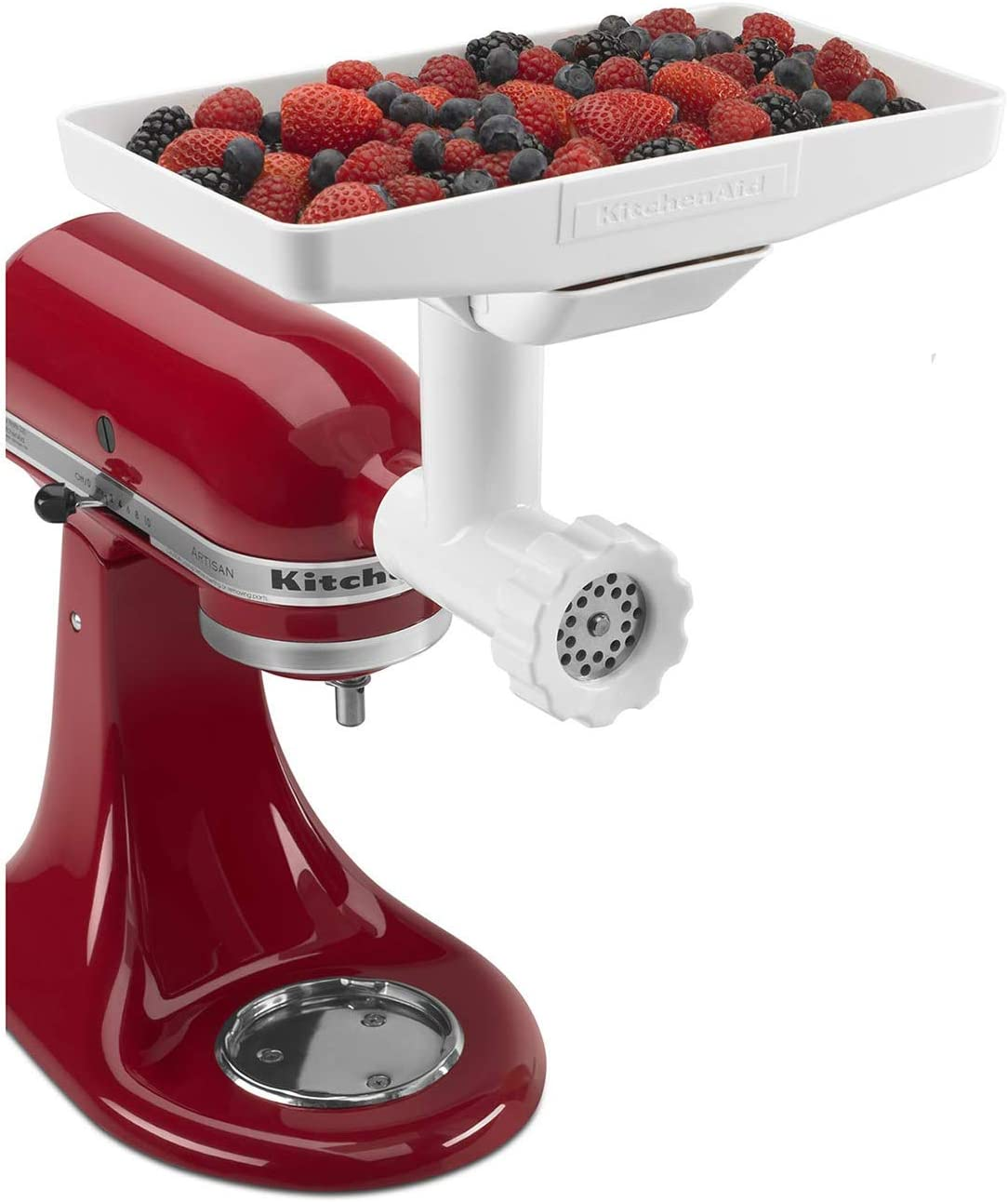 KitchenAid KN12AP Stand Mixer Attachment Pack 3 with Food Grinder, Citrus Juicer and Sausage Stuffer
