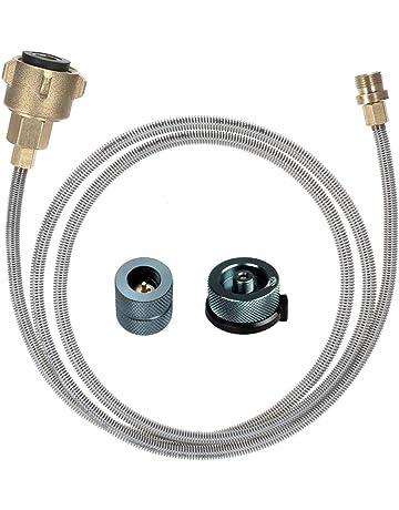 VGEBY Connecteur de cuisini/ère /à gaz convertisseur de Bouteille de gaz LPG pour Adaptateur de Recharge de cuisini/ère de Camping en Plein air