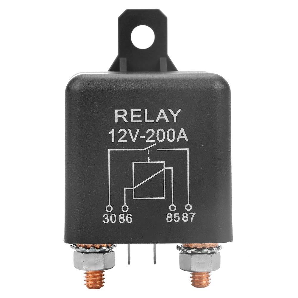 Rel/é de estado s/ólido WM686 12V Rel/é de arranque de 4 pines Rel/é de encendido//apagado del coche de servicio pesado RL//180 200A