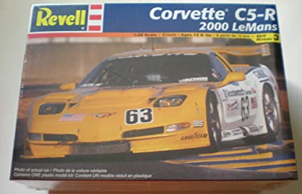 Amazon com: Corvette C5-R Endurance Racer Kit by Revell 1:25