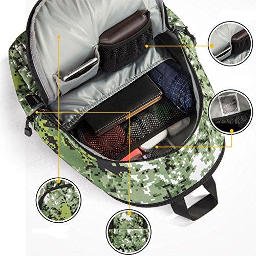 Mädchen Mode Rucksack-Buch-Beutel Schultasche Reise Wandern Camping 6L4cI7N