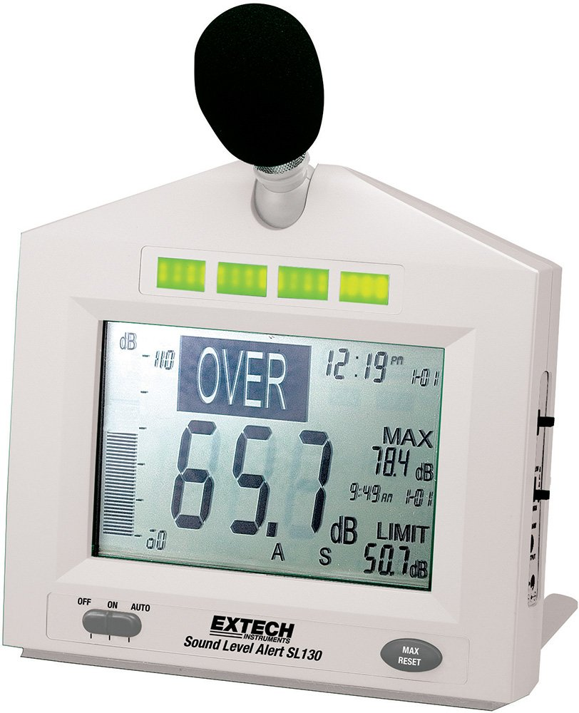 Extech SL130W Sound Level Alert with Alarm by Extech
