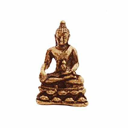Amazon com: Purpledip Rare Miniature Statue Meditating Buddha