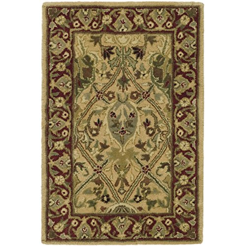 Safavieh Persian Legend Collection PL819D Handmade Traditional Ivory and Rust Wool Area Rug (2' x ()