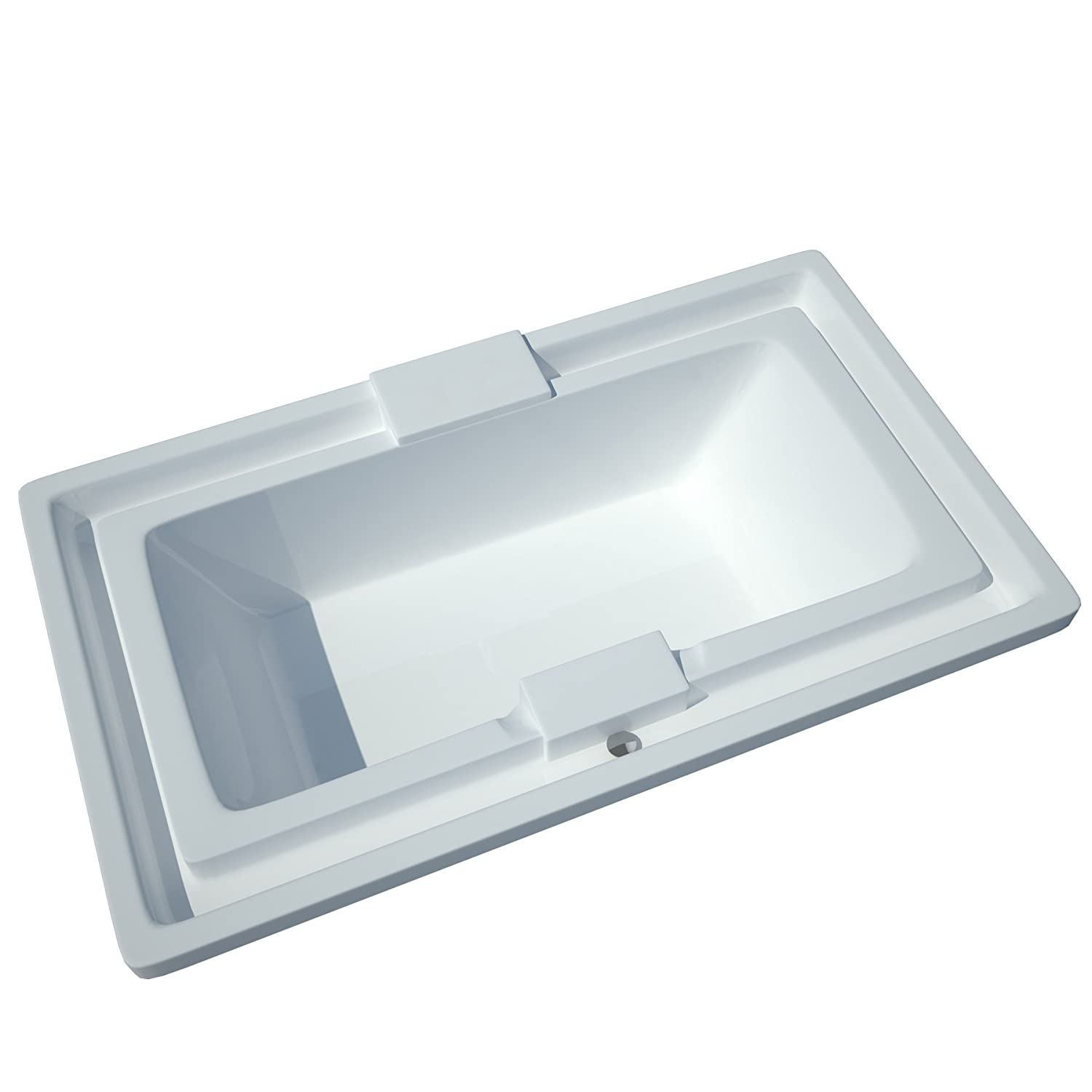 Sea Spa Tubs S4678I Tubs Infinity 46 by 78 by 23-Inch Endless Flow ...
