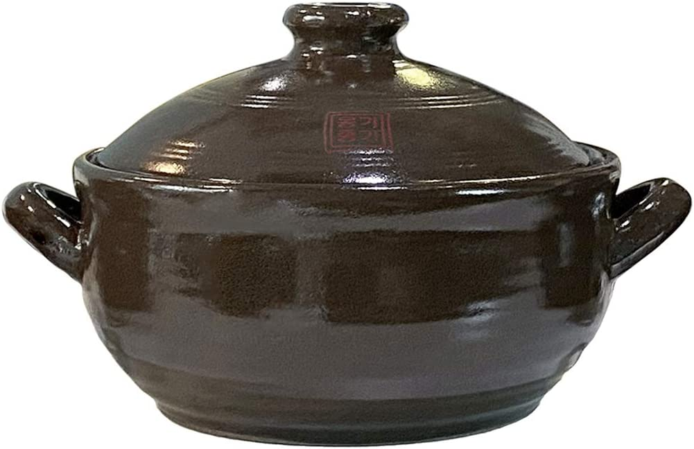 OnggiJonggi Korean Earthenware Clay Hot Pot (1100ml)
