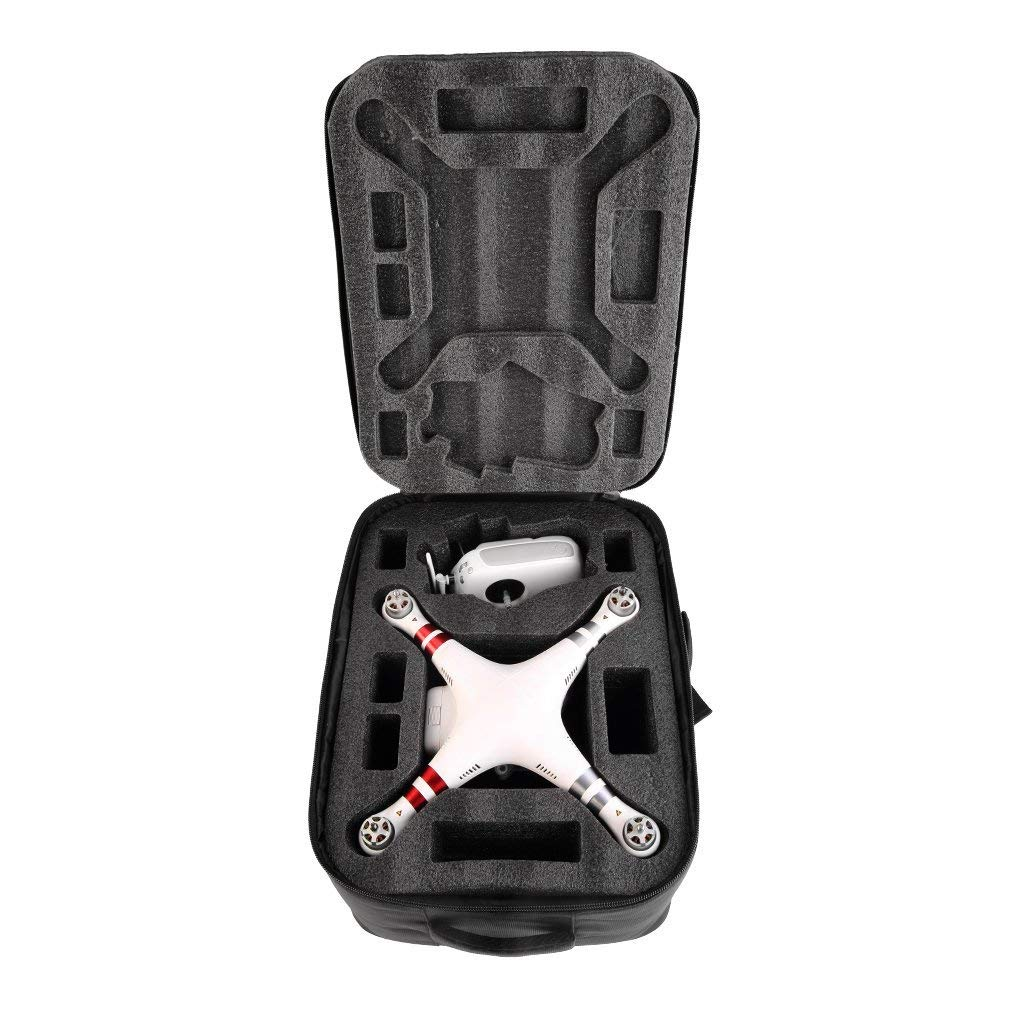 Hemore Aircraft model drone accessories Universal Waterproof Quadcopter Carrying Case Bag For Phantom 2//3 Vision Brand new