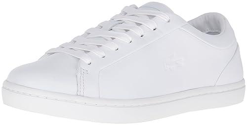 589a2def51c68c Lacoste Women s Straightset 316 1 Caw Wht Fashion Sneaker