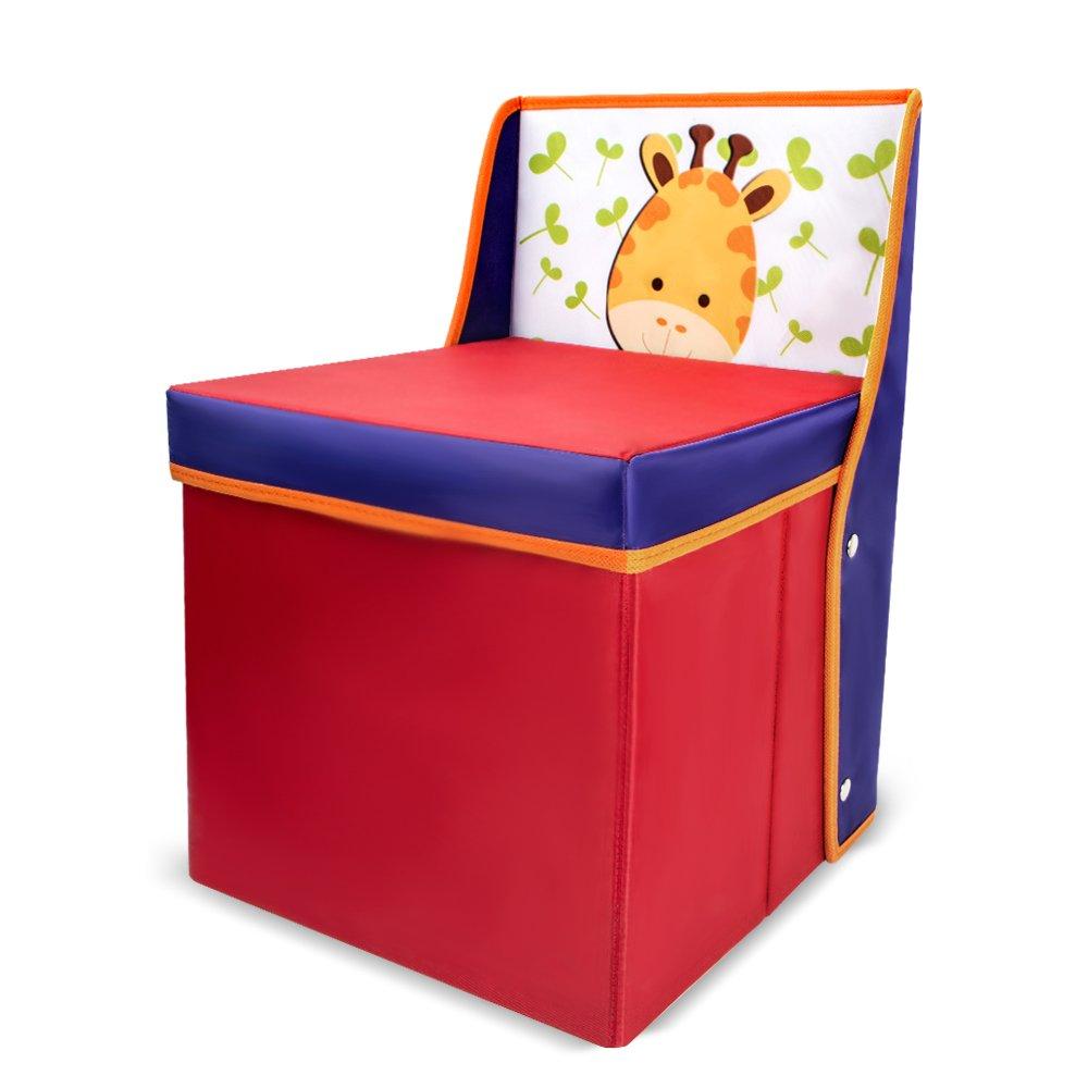 Tumama giocattolo Storage Bench Kids libri scatola per vestiti per bambine, camera da letto