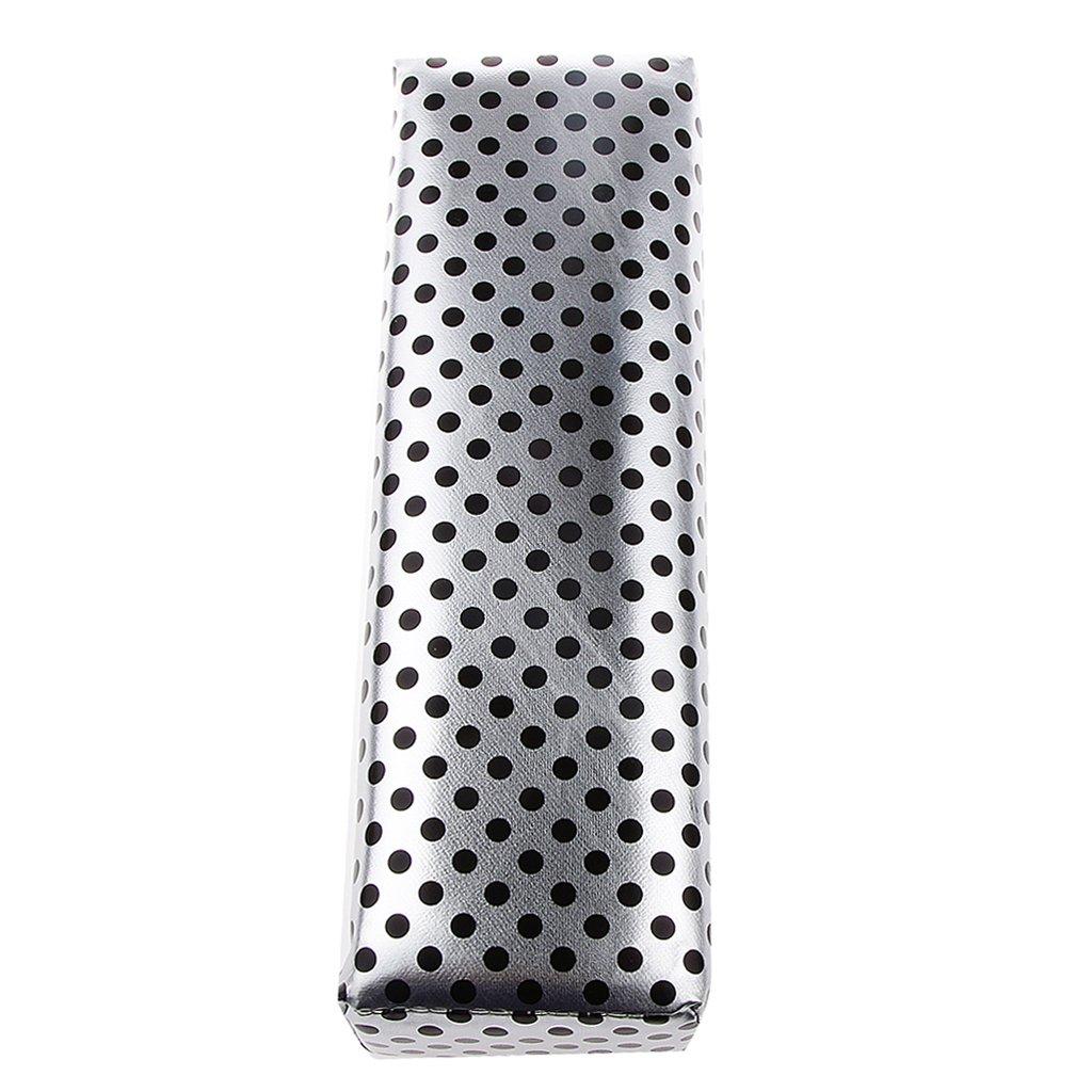 Nail Art Salon Cushion Hand Rest Pillow PU Leather& Sponge Manicure Tool - Black Generic