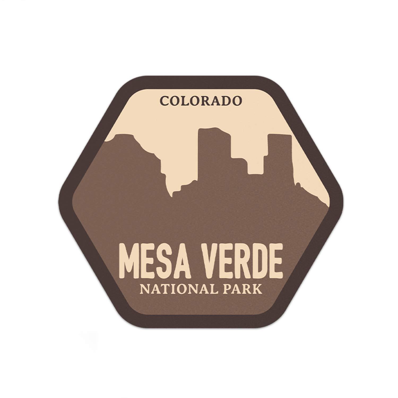 "3/"" Mesa Verde National Park Sticker"