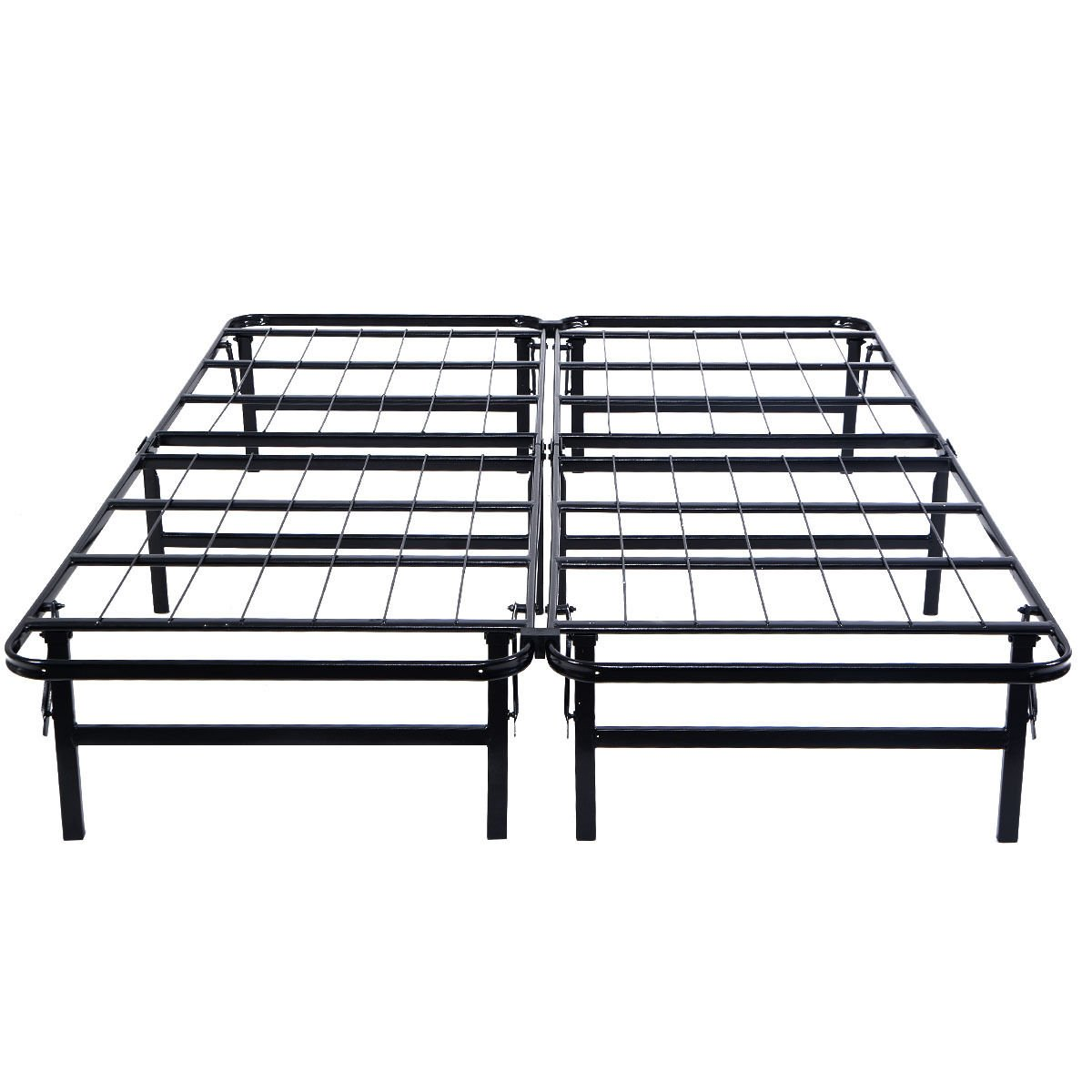 amazoncom giantex platform metal bed frame mattress foundation 5 size box springs queen size kitchen dining - Metal Queen Size Bed Frame