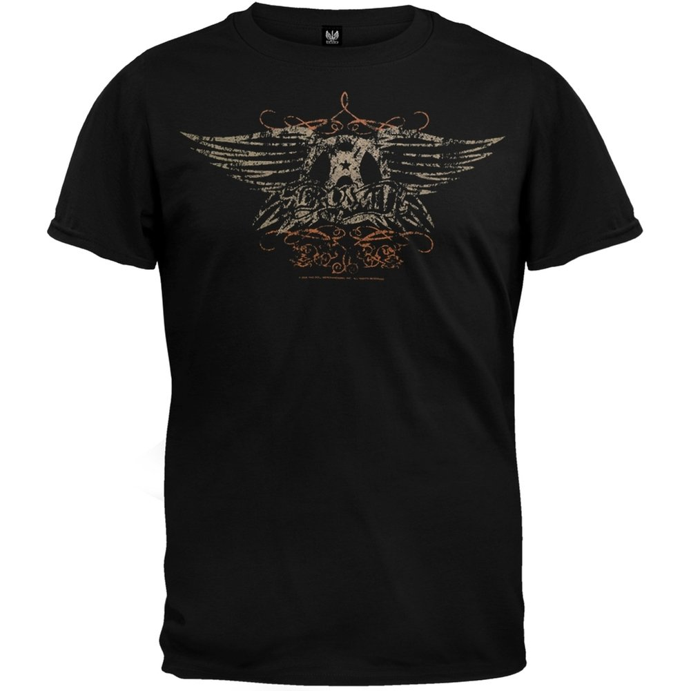 Aerosmith Faded Wings Tshirt