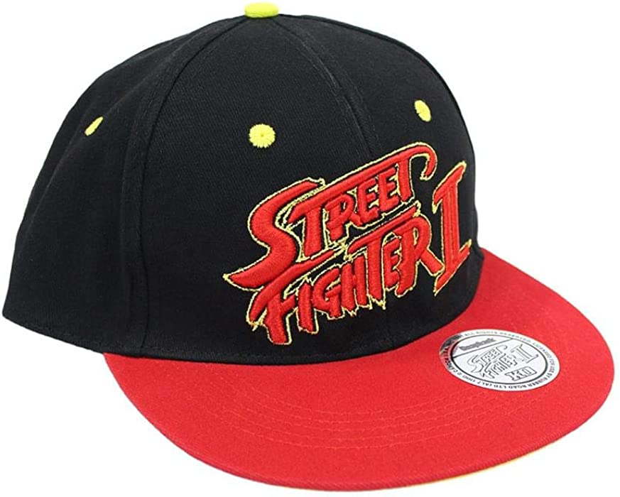 3cb736b596e Official Classic Street Fighter Snapback at Amazon Men s Clothing store