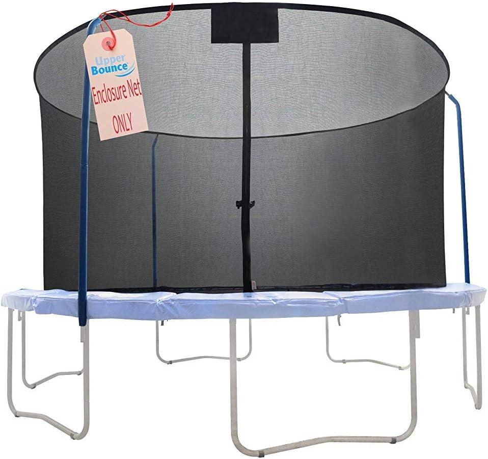 Postes no incluidos 6 Postes Curvos Red de Seguridad de Repuesto para Trampol/ín Cama El/ástica Redonda 3.35 m con Anillo Superior Upper Bounce