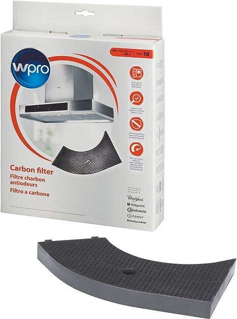 Wpro chf85/1 – Campana accesorios/antibacteriano filtro de carbón activado para campanas extractoras/umfluft operativos/compatible para Bauknecht, entre IKEA: Amazon.es: Grandes electrodomésticos