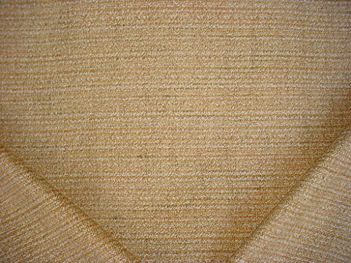 109RT7 - Saffron / Copper / Brass / Platinum Hemp Overscaled Southwest Basketweave Tweed Designer Upholstery Drapery Fabric - By the -