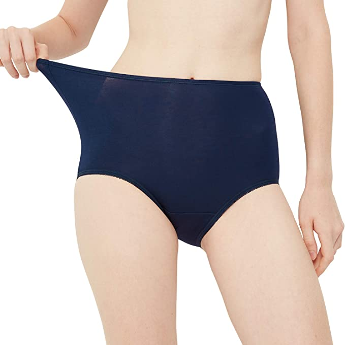 INNERSY - Bragas de cintura alta para mujer, suave, suave, tamaño grande, paquete múltiple: Amazon.es: Ropa y accesorios