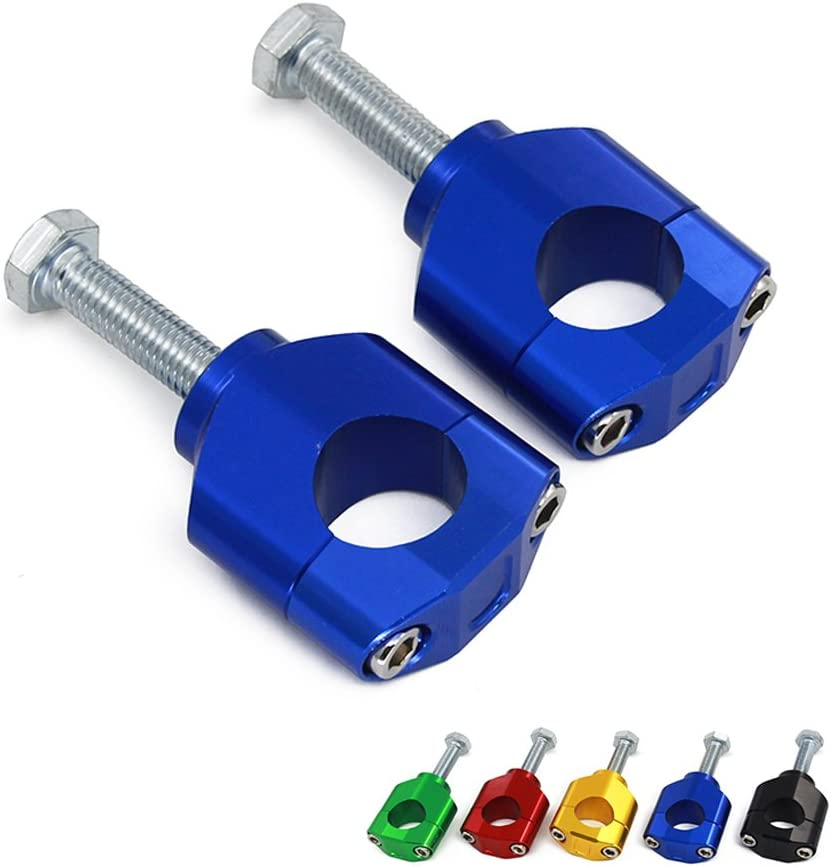 JFG RACING 1 1//8 28MM Gold HandleBar Fat Bar Mounts Clamp Riser For SUZUKI RMZ250 04-06 For Honda CR125R CR250R CRF250R CRF450R CRF450RX CRF250X CRF450X KAWASAKI KX125 KX250 KX250F KX450F