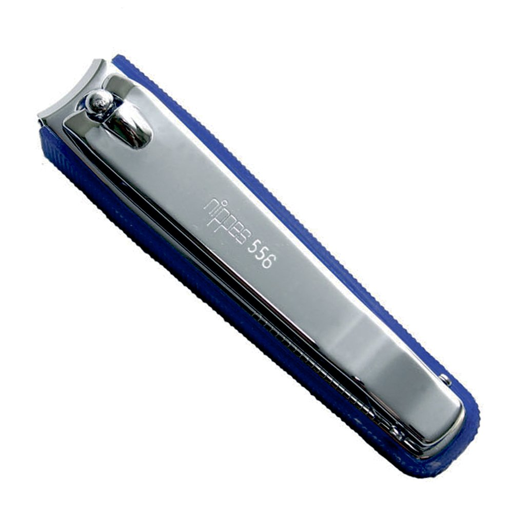 Nippes Solingen Nail Clipper 556E, With Nail Collector, Highest Quality Hardened Steel Made in Germany, for Clipping, Cleaning & Filing, Sharp Blades for Precise Cuts