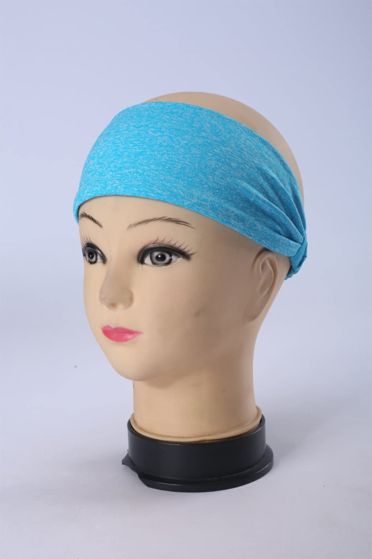 Haarband Yoga Stirnband Sport Schweißband Fitness Laufen Qualitativ hochwertig
