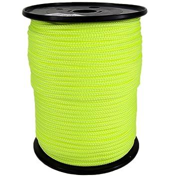 0100 Kanirope/® PP Seil Polypropylenseil MULTIBRAID 8mm 50m geflochten Farbe Wei/ß