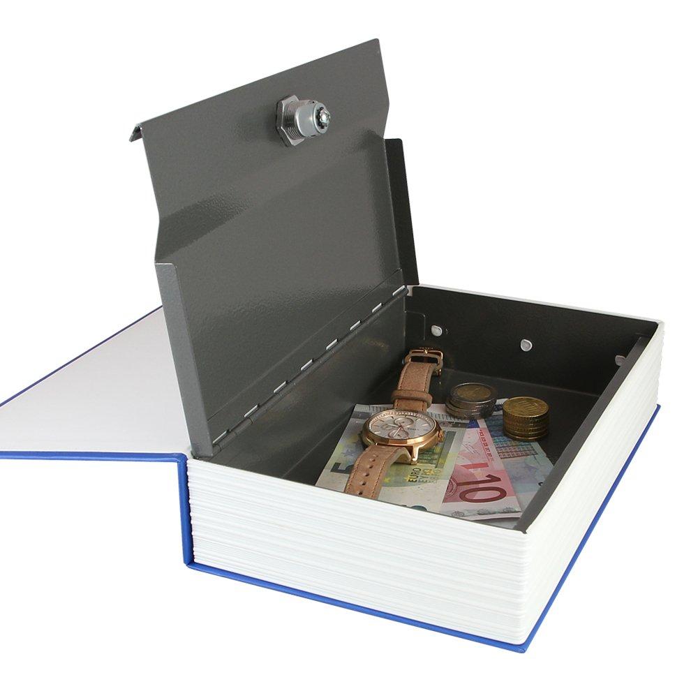Geldkassette getarnt ALS English Dictionary 23,5 x 15,5 x 5,5 cm HMF 309-19 Buchsafe braun