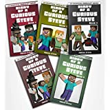 Minecraft: Diary of a Curious Steve Complete Series Books 1 - 5 (An Unofficial Minecraft Book)