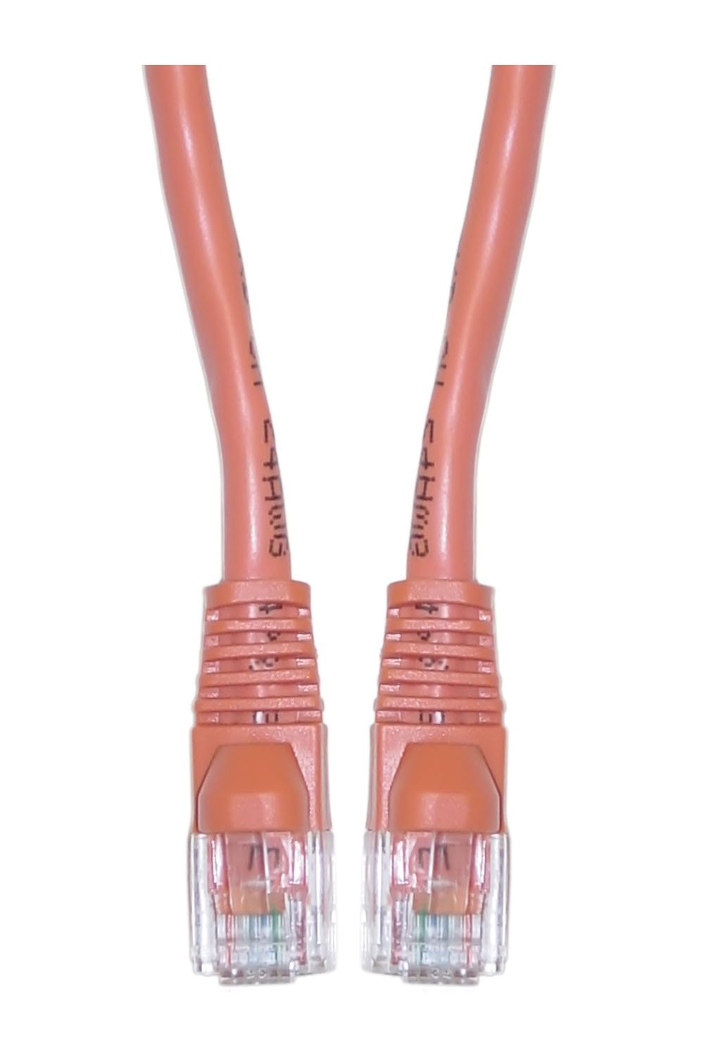 OF-10X6-03101 1-Foot Offex Cat5e Ethernet Patch Cable clickhere2shop Snagless//Molded Boot Orange