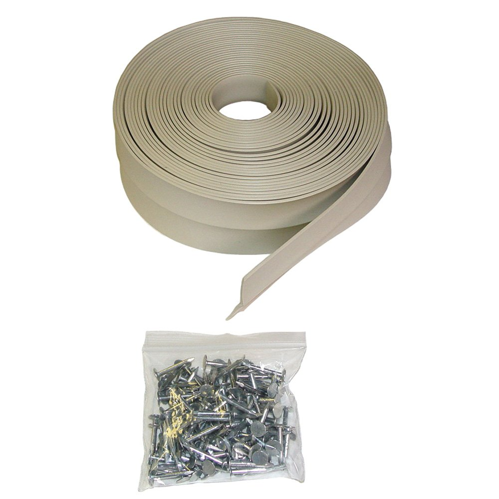 Auto Care Products Inc 58026 ProSeal 26-Feet Garage Door Top and Side Seal with Nails for 1 Car Garage