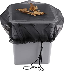 Yiying Mesh Cover for Rain Barrels, Rainwater Collection System Rain Barrel Kit, Keep Mosquitos and Debris Out of Your Rain Barrel