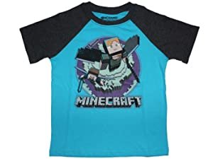 Minecraft Alex and Steve Flighby Watchdogs Girls Shirt