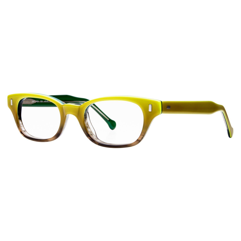 eyeOs Model 'QUE Linda', High Definition, Hypoallergenic, Anti Glare eyeOs Women's, Unisex Readers, Bright Rectangular Retro