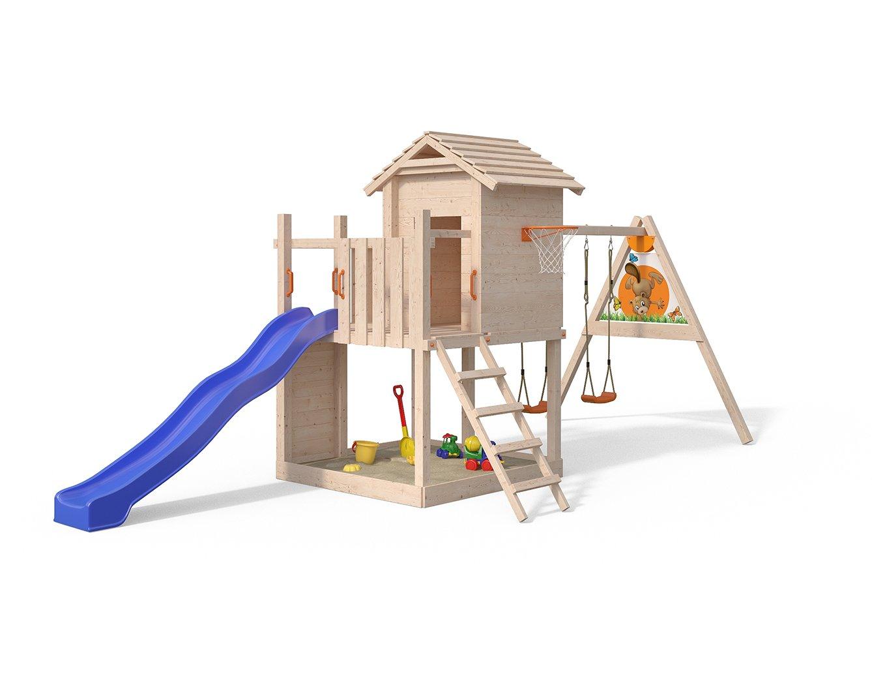 Klettergerüst Isidor : Isidor gigantico spielturm von oskar mit schaukelanbau kletterturm