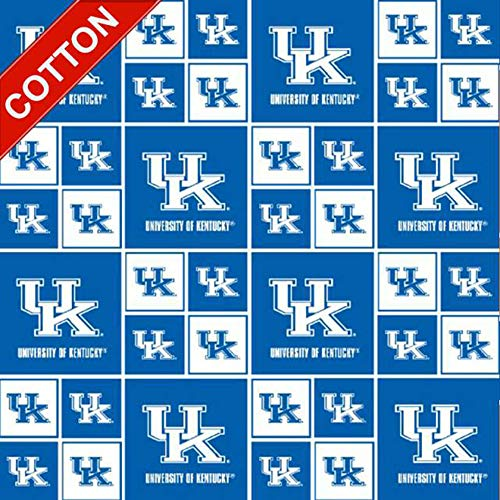University of Kentucky Wildcats NCAA Cotton Fabric - 45