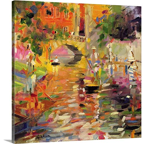 Peter Graham Premium Thick-Wrap Canvas Wall Art Print Entitled Summer Heat 36