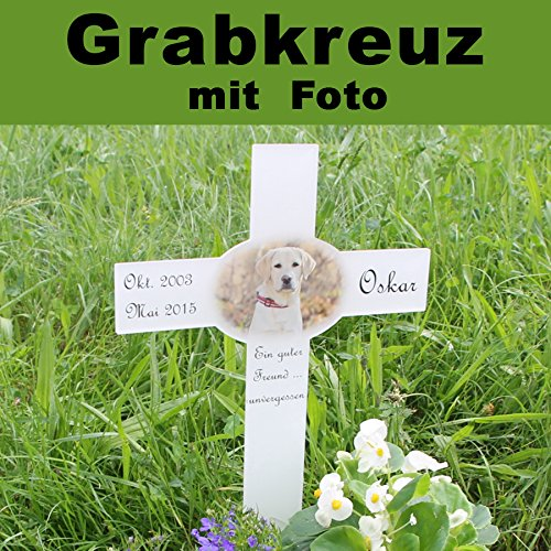 Grabkreuz Anstatt Grabtafel Inkl Wunschtext Individuell Mit Foto