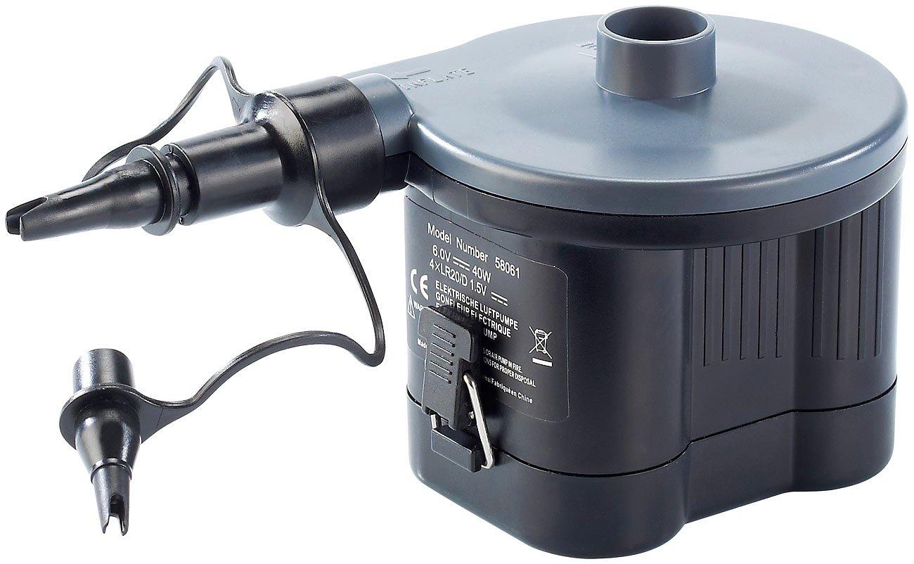 infactory Elektropumpe: Elektrische Luftpumpe, Batteriebetrieb, 40 ...