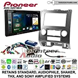 Pioneer AVIC-5201NEX Double Din Radio Install Kit with Navigation Apple Carplay Bluetooth Fits 2008-2012 Ford Escape, Mazda Tribute, Mercury Mariner