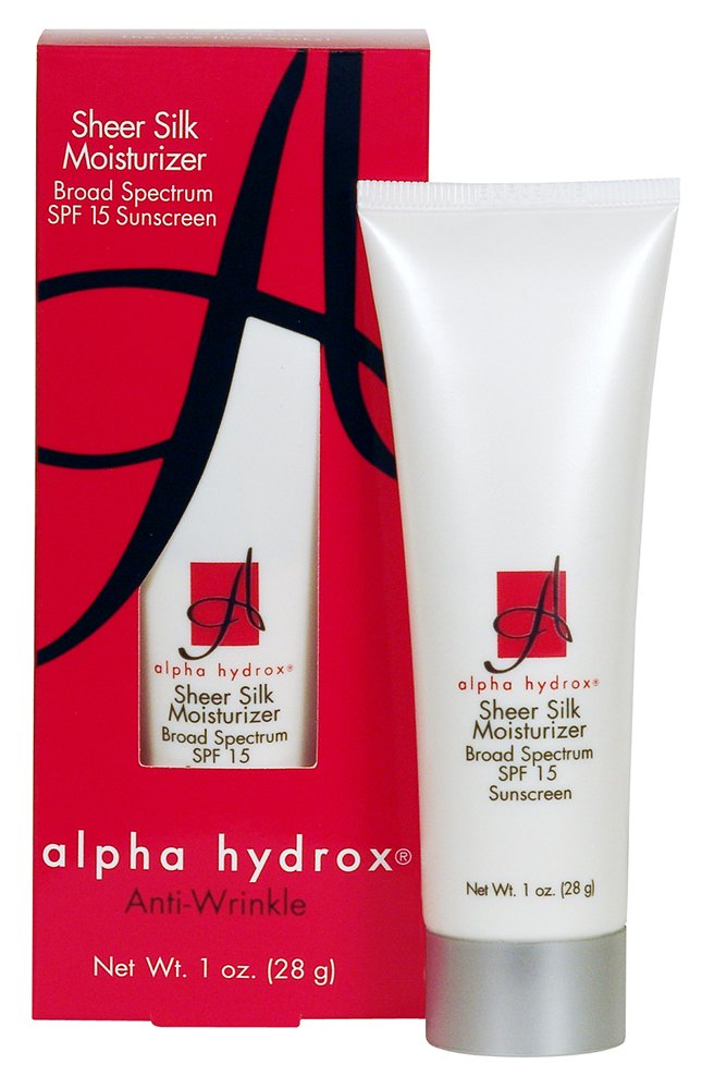 Alpha Hydrox Sheer Silk Moisturizer SPF 15, 1 Ounce