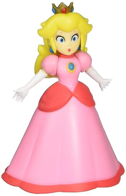 amazon com world of nintendo 86736 2 5 princess peach action